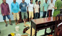 Đột kích sới đá gà ăn tiền ở Bạc Liêu bắt quả tang nhiều đối tượng