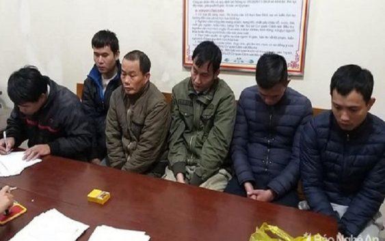 Phát hiện 6 người tham gia đánh liêng ở Nghệ An bị cơ quan điều tra bắt giữ