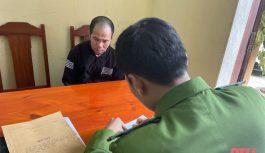 Triệt xóa điểm đánh bạc dưới hình thức ghi lô đề tại xã Thành Công