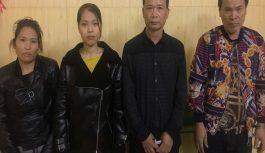 4 đối tượng nam nữ đang say sưa sát phạt nhau trên chiếu bạc tại Hải Phòng bị bắt