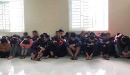 Hơn 200 cảnh sát ập vào sới bạc có nhiều quý bà tại Vĩnh Phúc