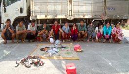 Nhóm đối tượng có nhiều phụ nữ tham gia đánh bạc tại An Giang bị triệt phá
